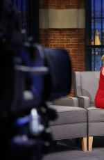 EMILIA CLARKE at Late Night with Seth Meyers in New York 05/24/2016