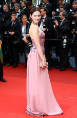 EMILIA SCHUELE at 'Cafe Society' Premiere and 69th Cannes Film Festival Opening 05/11/2016