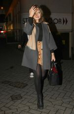 EMILY ATACK Leaves Theatre in Nottingham 05/10/2016