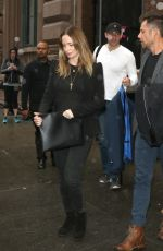EMILY BLUNT Leaves Public Theater in New York 05/01/2016