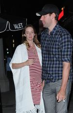 EMILY BLUNT Out and About in West Hollywood 05/24/2016
