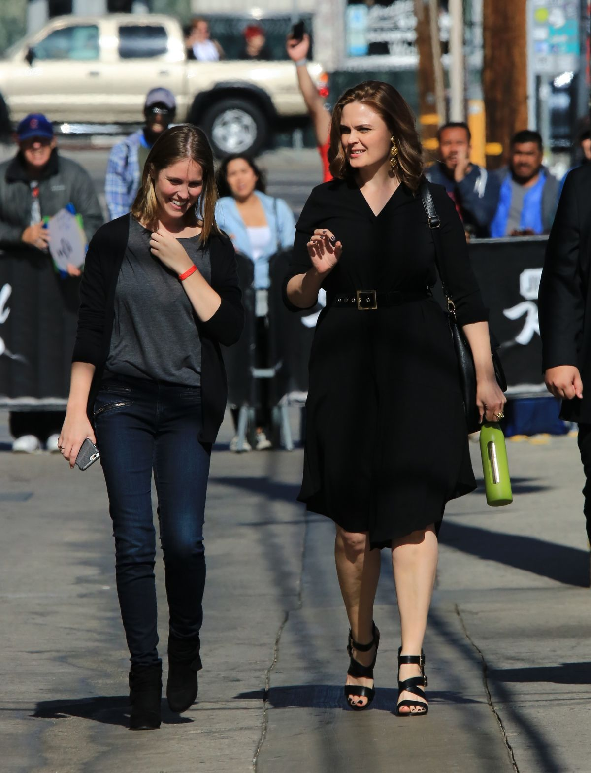 EMILY DESCHANEL arrives at