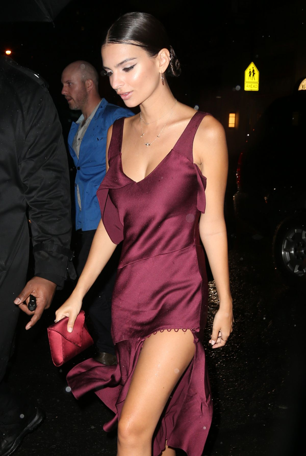 EMILY RATAJKOWSKI Leaves Met Gala After-party in New York 05/02/2016