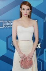 EMMA ROBERTS at Fox Network 2016 Upfront Presentation in New York 05/16/2016