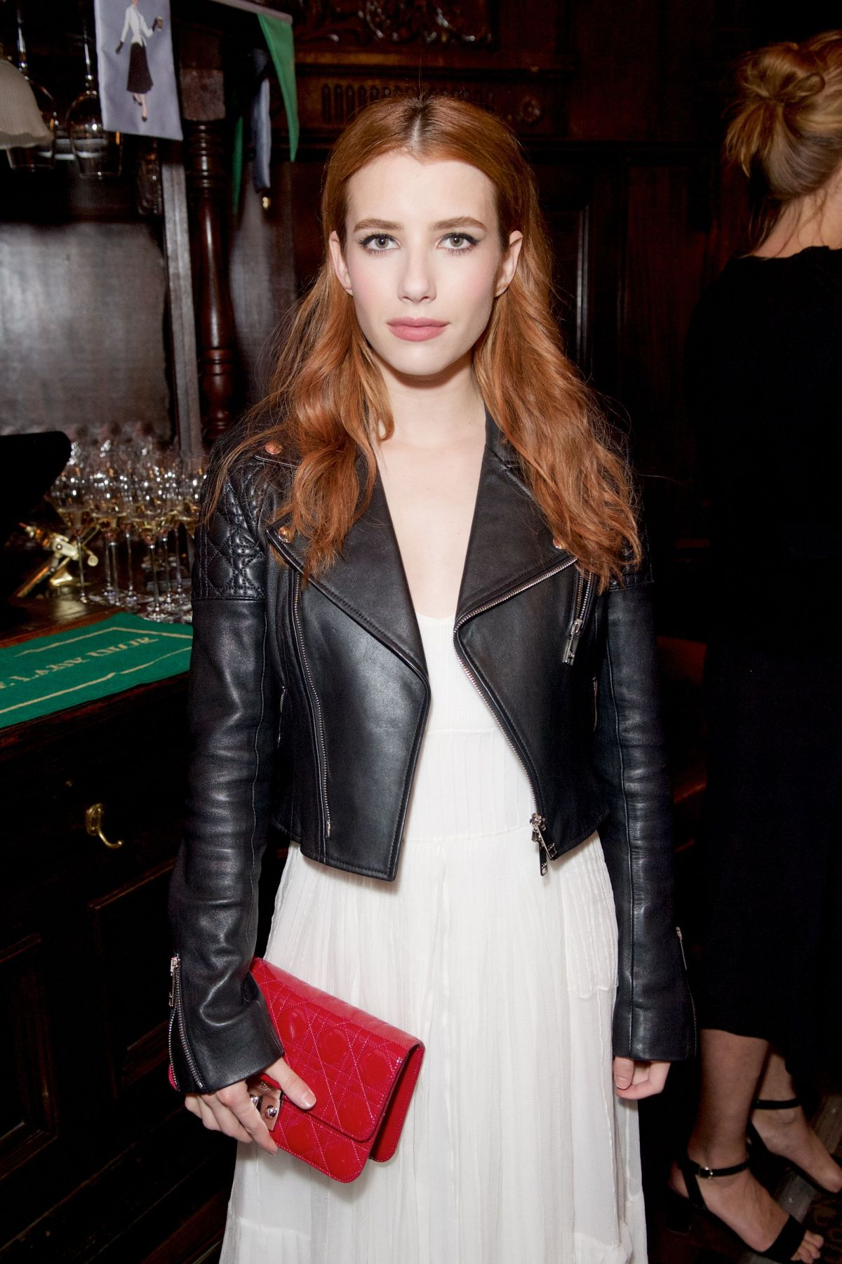 EMMA ROBERTS at Lady Dior Party in London 05/30/2016
