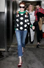 EMMA ROBERTS at LAX Airport in Los Angeles 05/03/2016