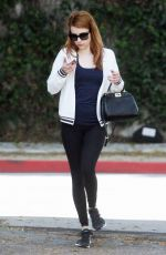 EMMA ROBERTS Out and About in West Hollywood 05/27/2016