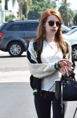 EMMA ROBERTS Out in Los Angeles 05/10/2016