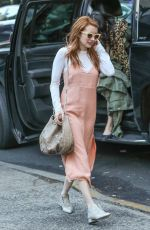 EMMA ROBERTS Out in New York 04/30/2016