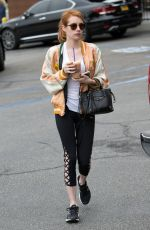 EMMA ROBERTS Out in West Hollywood 05/11/2016