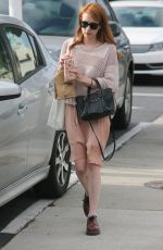EMMA ROBERTS Out in West Hollywood 05/14/2016