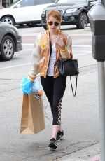 EMMA ROBERTS Out Shopping in Los Angeles 05/11/2016