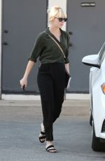 EMMA STONE Out and About in Hollywood 05/24/2016