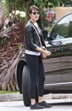 EMMA STONE Out and About in Los Angeles 05/07/2016