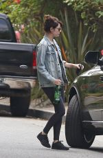 EMMA STONE Out and About in Los Angeles 05/14/2016