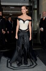 EMMA WATSON at Costume Institute Gala 2016 in New York 05/02/2016