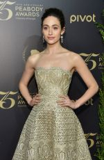 EMMY ROSSUM at 75th Annual Peabody Awards in New York 05/21/2016