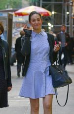 EMMY ROSSUM Out in New York 05/21/2016
