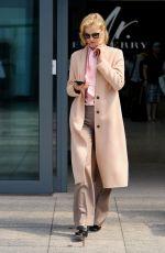 EVA HERZIGOVA at Heathrow Airport in London 05/20/2016