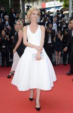 EVA HERZIGOVA at 'The Unknown Girl' Premiere at 69th Annual Cannes Film Festival 05/18/2016