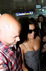 EVA LONGORIA Arrives at Airport in Nice 05/10/2016