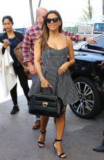 EVA LONGORIA Arrives at Martinez Hotel in Cannes 05/10/2016