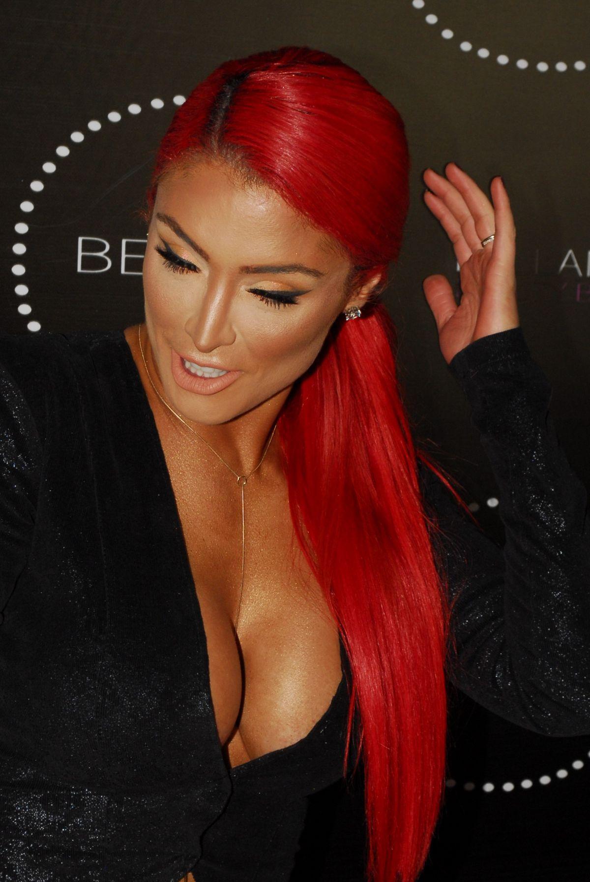 EVA MARIE at Bellami Beauty Bar in West Hollywood 05/05/2016 - HawtCelebs