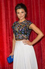 FAYE BROOKES at British Soap Awards 2016 in London 05/28/2016