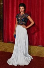 FAYE BROOKES at British Soap Awards 2016 in London 05/28/2016