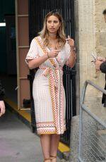FERNE MCCANN at ITV Studios in London 05/17/2016