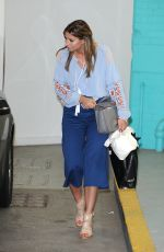 FERNE MCCANN Leaves ITV Studios in London 05/10/2016