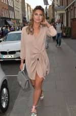 FERNE MCCANN Out and About in London 05/05/2016