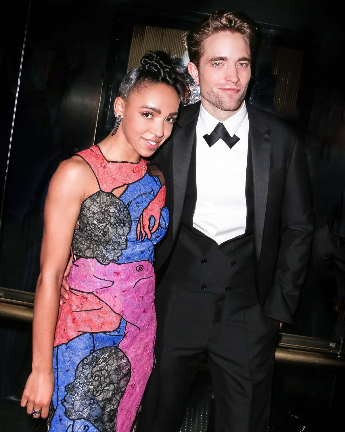 FKA TWIGS and Robbert Pattison at Met Gala After-party in New York 05/02/2016