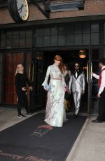 FLORENCE WELCH Leaves Bowery Hotel in New York 05/02/2016