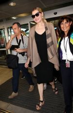 GEENA DAVIS Arrives at Nice Airport 05/15/2016