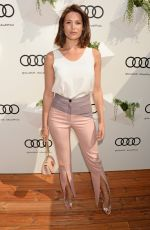 GEMMA ARTERTON at Audi Polo Challenge in London 05/29/2016
