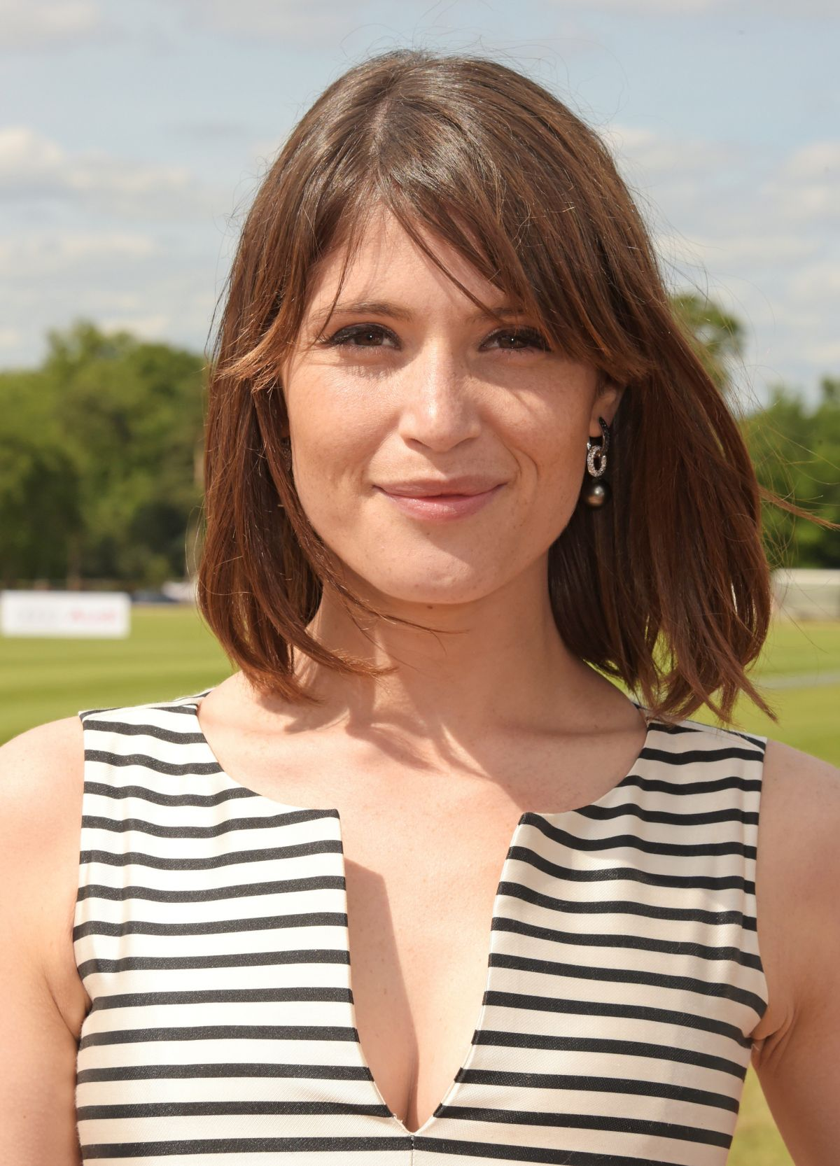 GEMMA ARTERTON at Audi Polo Challenge in London 05/30/2016