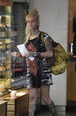 GEMMA LUCY at Piccadilly Train Station in Manchester 05/15/2016