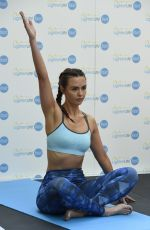 GEMMA MERNA andJENNIFER METCALFE at a Yoga Class at Trafford Centre in Manchester 05/14/2016