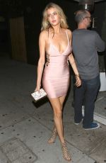 GEMMA VENCE at Nice Guy in West Hollywood 05/25/2016