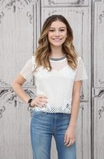 GENEVIEVE HANNELIUS at AOL Studios in New York 05/24/2016