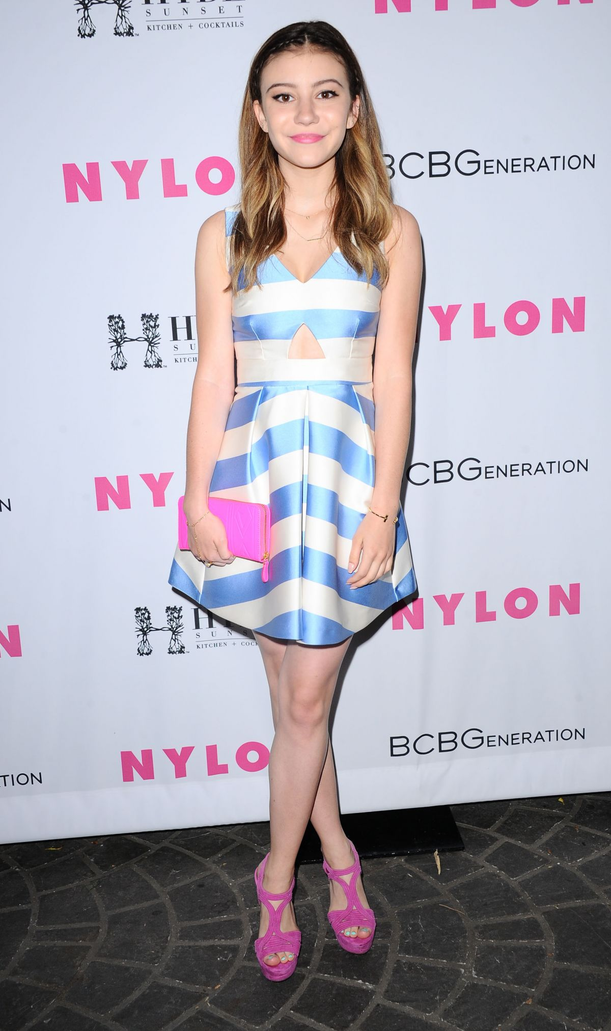 GENEVIEVE HANNELIUS at Nylon Young Hollywood Party in West Hollywood 05/12/2016