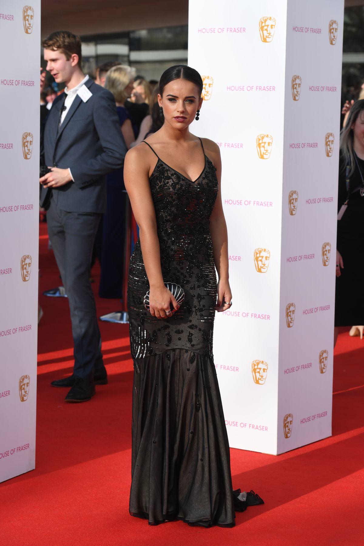 GEORGIA MAY FOOTE at House of Fraser British Academy Television Awards 05/08/2016
