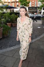 GEORGIA TOFFOLO at Aya Silk Launch Party in London 05/20/2016