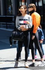 GIGI and BELLA HADID Out in New York 05/08/2016