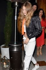 GIGI HADID at Nice Guy in West Hollywood 05/28/2016