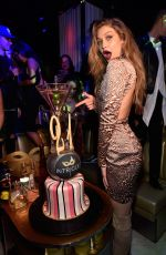 GIGI HADID Celebrates Her 21st Birthday at Intrigue Nightclub in Las Vegas 04/30/2016