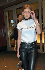 GIGI HADID Leaves Drakes Saturday Night Live After-party in New York 05/16/2016