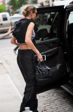 GIGI HADID Leaves Her Apartment in New York 05/17/2016