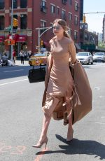 GIGI HADID Out and About in New York 05/09/2016